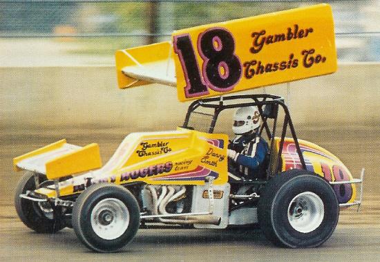 Wisconsin midget racing mug 1982