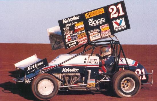 1991 Sprint Cars Steve Kinser